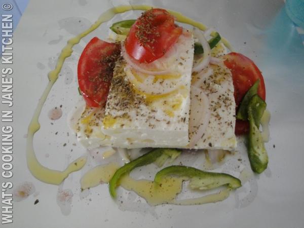 John's Baked Greek Feta ( Meze )