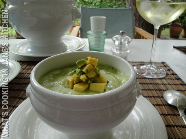 Cream of Avocado Soup ©