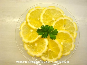 Cocktail Lemon Slices