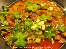 Thai Penang Beef Curry ©