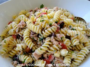 Cold Pasta Salad ©