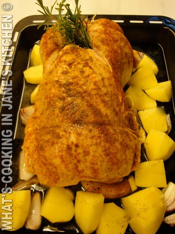 Roast Spicy Chicken