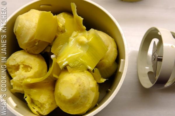 Artichoke Avocado and Parmesan Pasta ©
