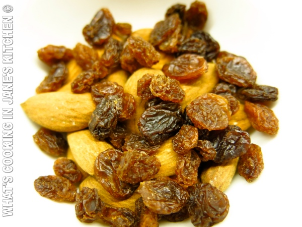 Almonds and Raisins ©