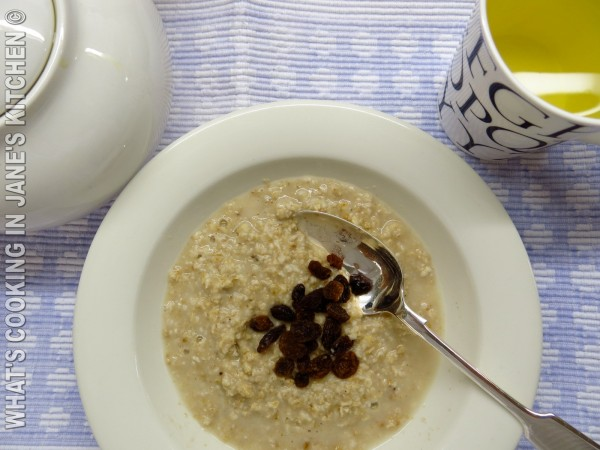 Porridge and Raisins ©