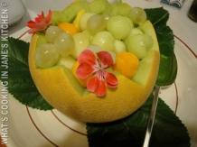 Summer Melon Fruit Salad ©