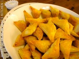Mini Cheese Filo Pies ©