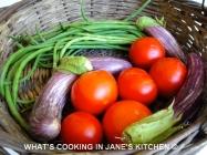Summer Vegetables From The Kitchen Garden ©