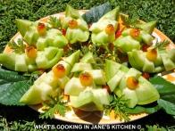 Fruit Salad And Melon Boats ! ©