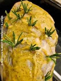 Roast Lamb And Roast Potatoes ©