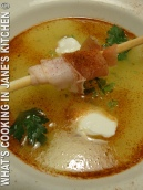 Cold Melon Soup With Prosciutto ©