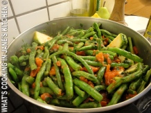 Greek Summer Beans. Fasolakia. ©