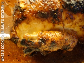 Moroccan Barbecued Chicken With Herb Couscous ©