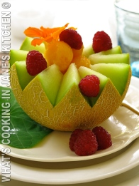 Refreshing Melon Cups ©