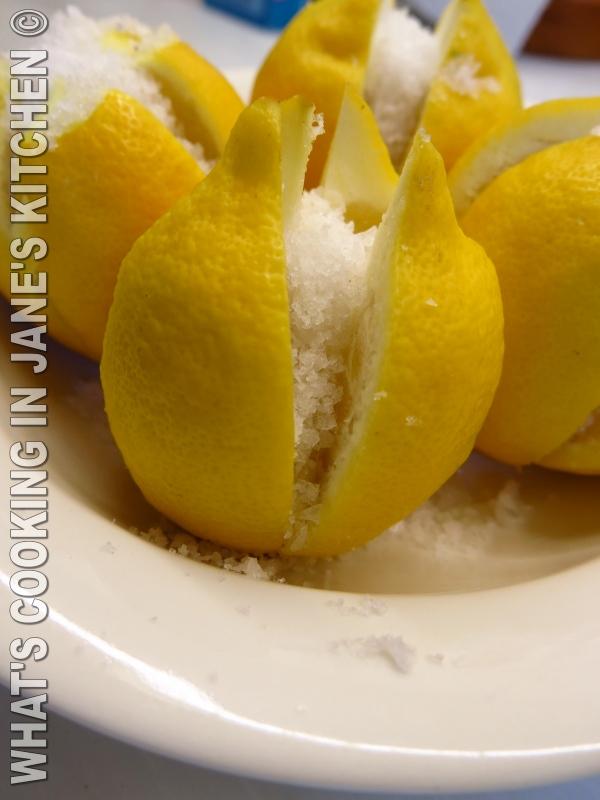 Moroccan Preserved Lemons  ©