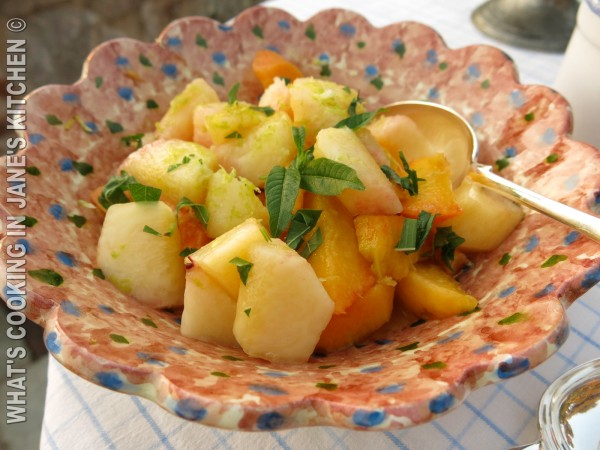 Peaches, Lime And Lemon Verbena ©
