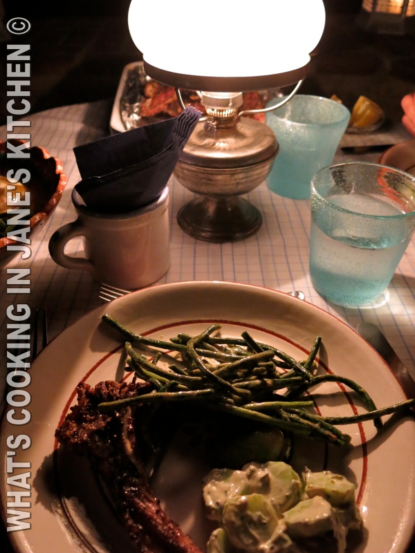 Barbecued Lamb Chops Marinaded In Harissa ©