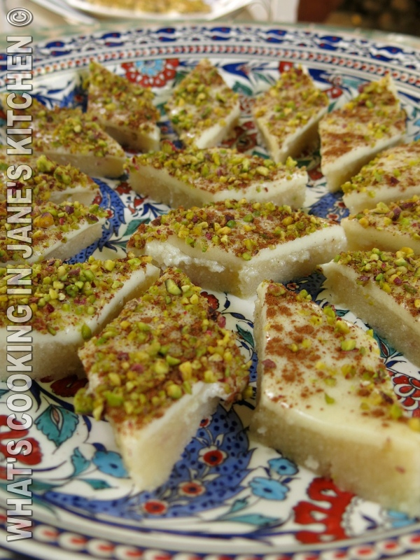 Halva And Pistachio Sweet ©