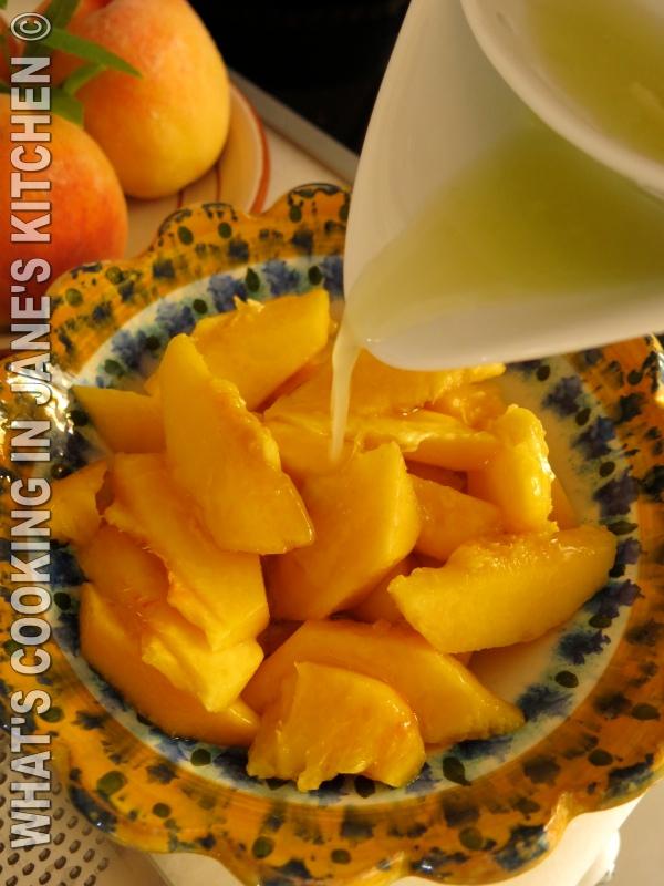 Peaches, Honey, Lime And Lemon Verbena ©