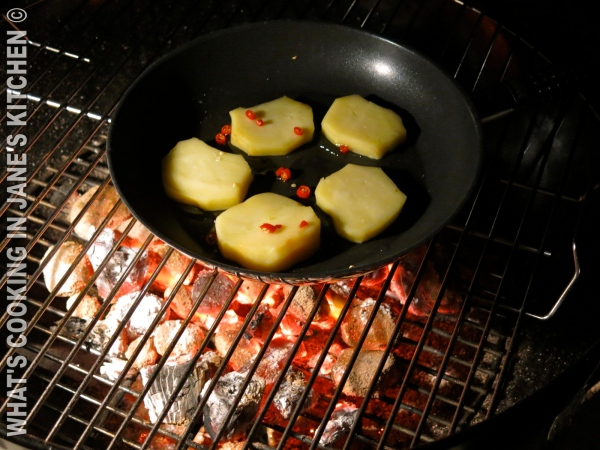 Grilled Greek Metsovo Cheese ©