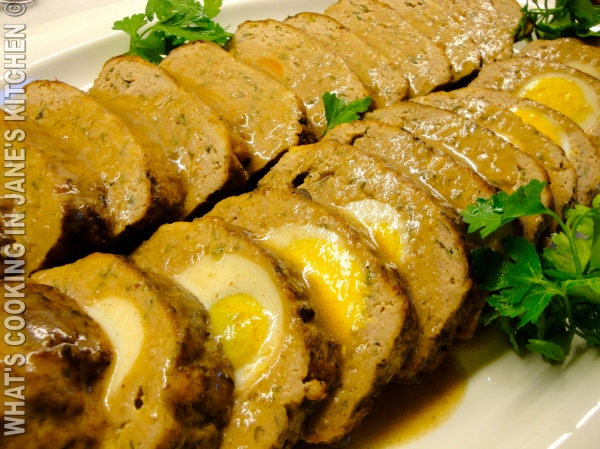 "Greek Meatloaf, ""Rolo."" ©"