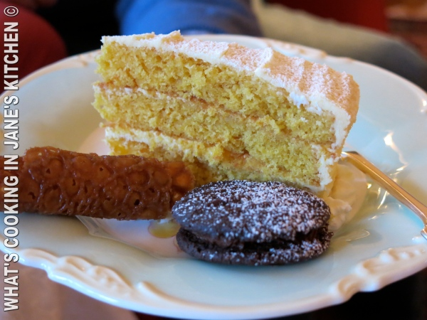 Orange Cake, Brandy Snaps And Magda Biscuits ©