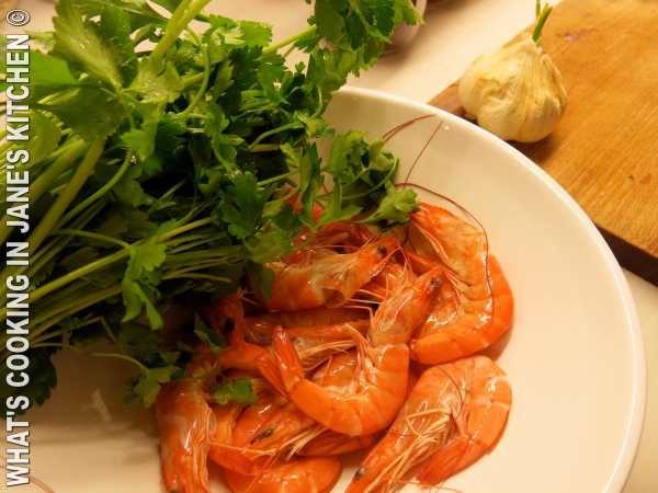 Prawns With Garlic And Ouzo ©