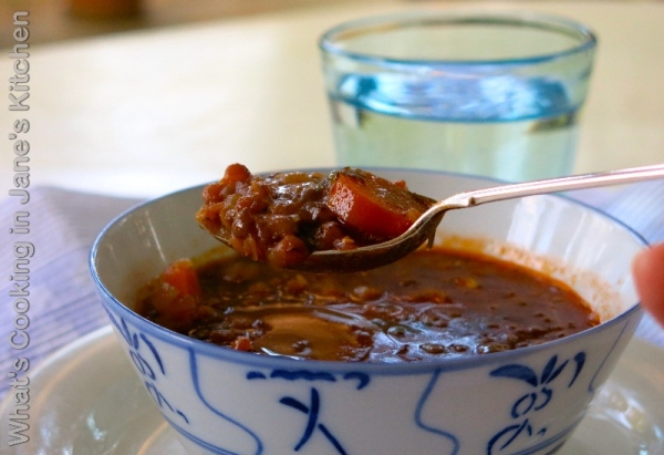 Greek Lentil Soup ©
