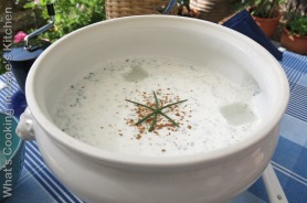 Yogurt And Chive Summer Soup ©