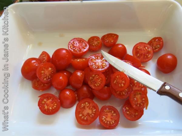 Roast Cherry Tomatoes ©