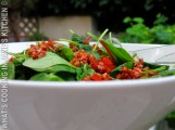 Spinach Pepper And Bacon Salad ©