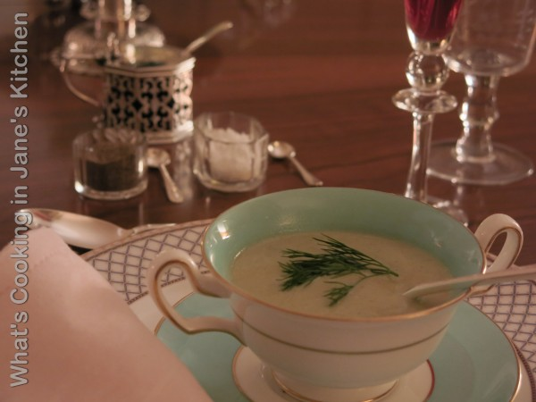 Cream Of Fennel Soup ©