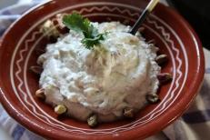 Pistachio Feta Yogurt And Coriander Dip ©